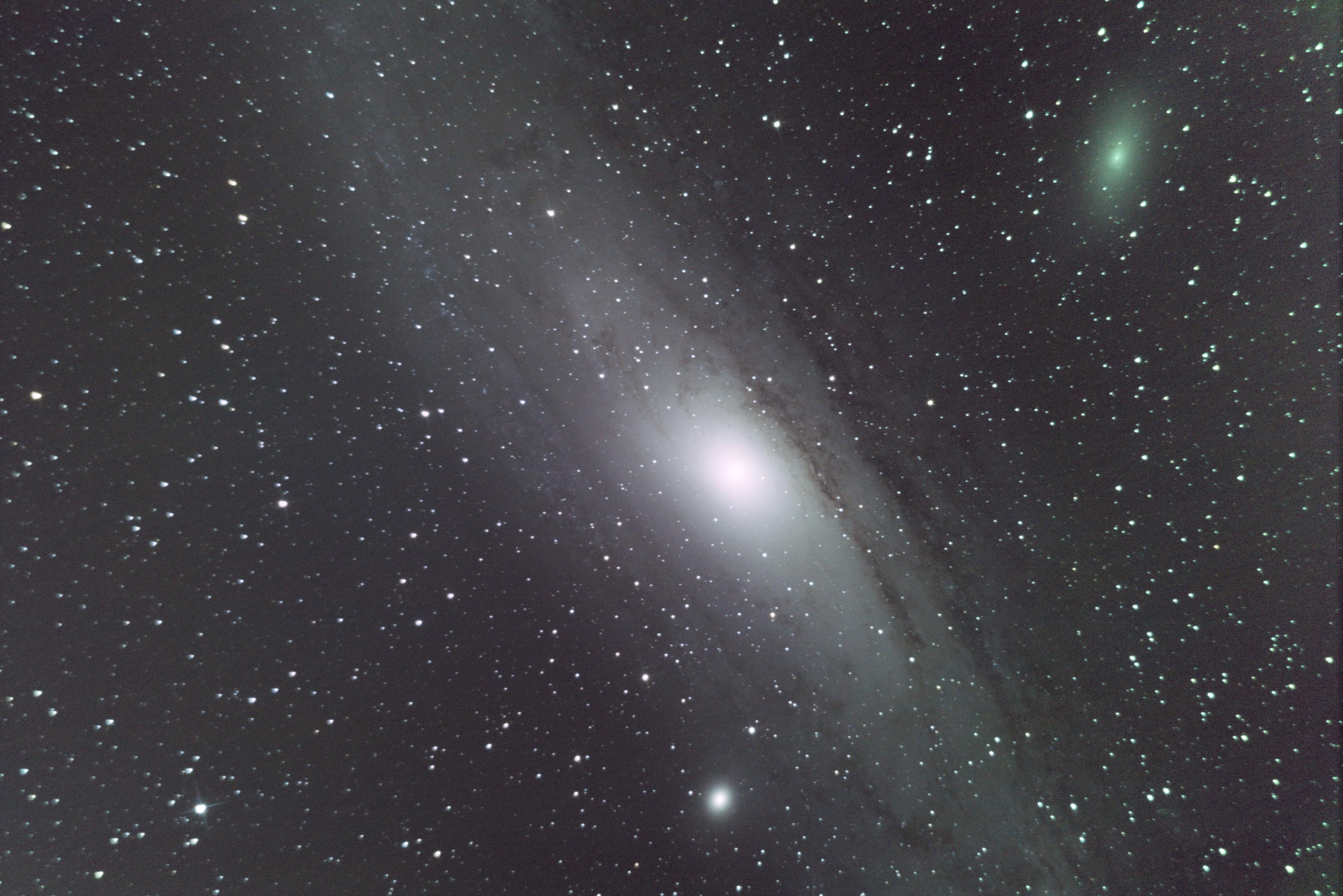 M31 Galaxie d'Andromède M31-0010G0040R