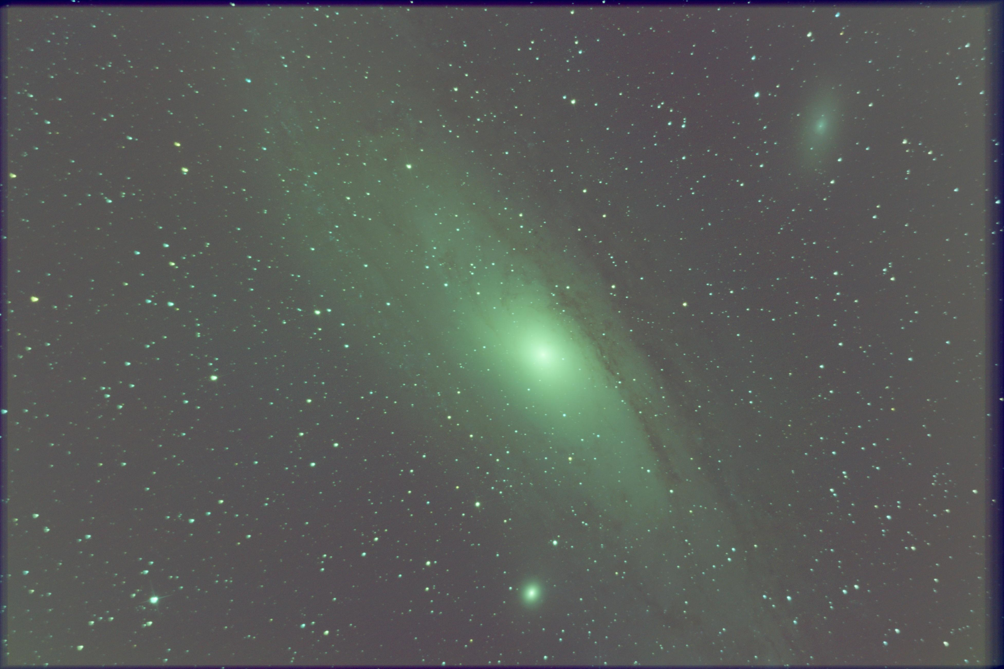 M31 Galaxie d'Andromède M31-0070